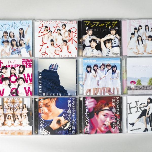 アイドル CDジャケット各種