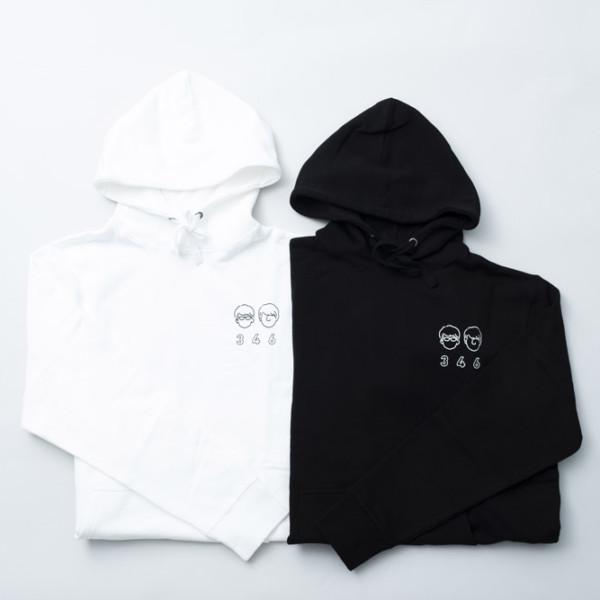 パーカー BLACK & WHITE